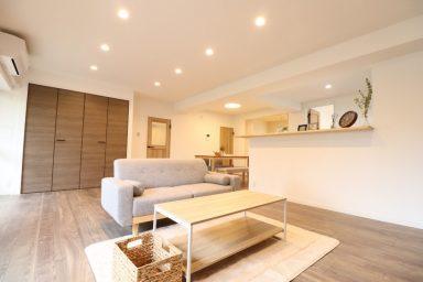 開放的なLDK空間で快適なマンションリノベーション